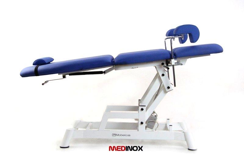 Fotel ginekologiczny z elektrycznie regulowana wysokością