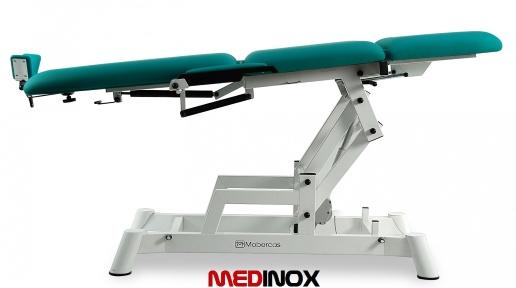 Fotel okulistyczny z elektrycznie regulowana wysokością