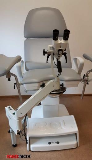 kolposkop MK-200 z fotelem ginekologicznym