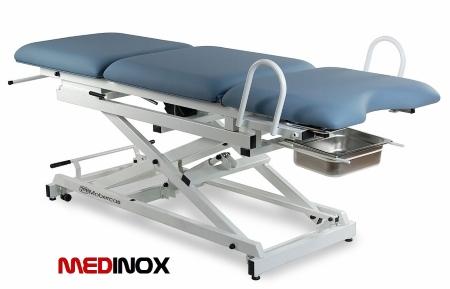 stół z funkcją fotela ginekologicznego